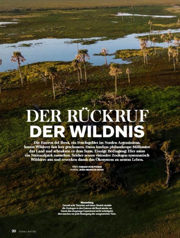 Der Rückruf der Wildnis